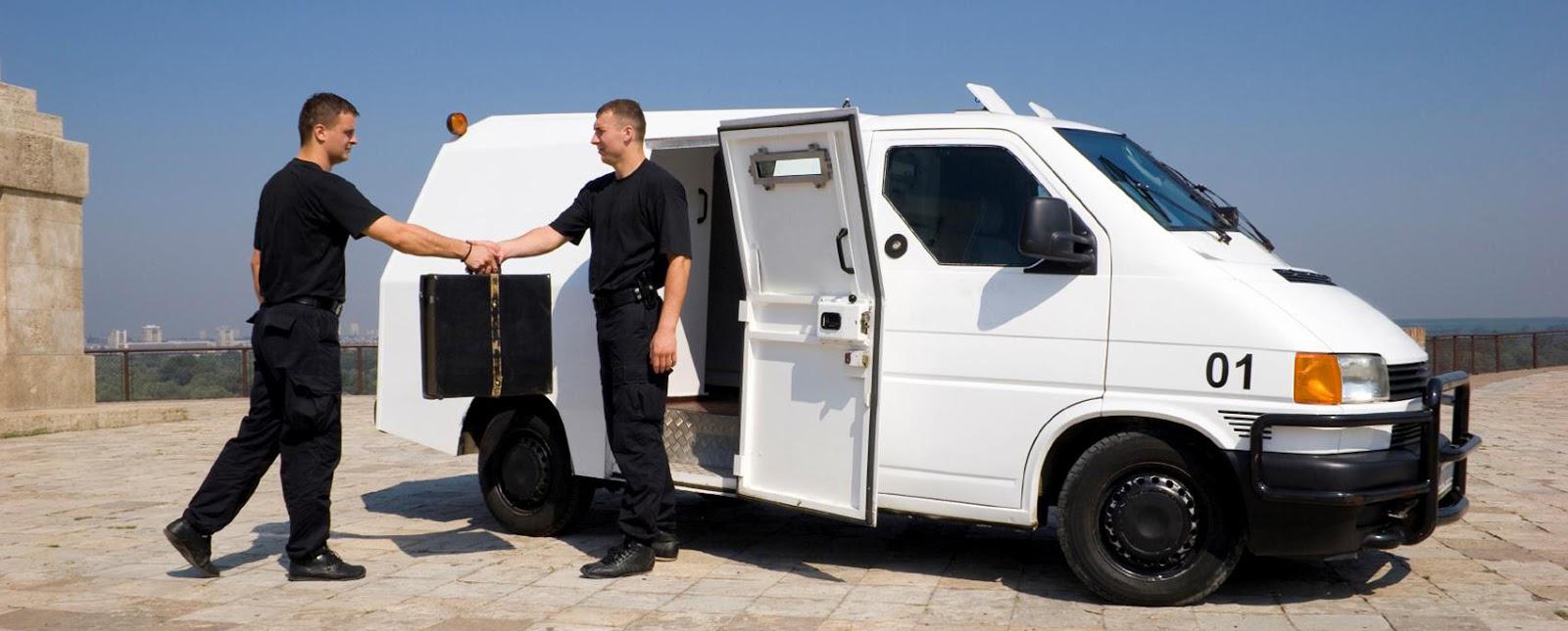 охранные услуги - сопровождение ценностей